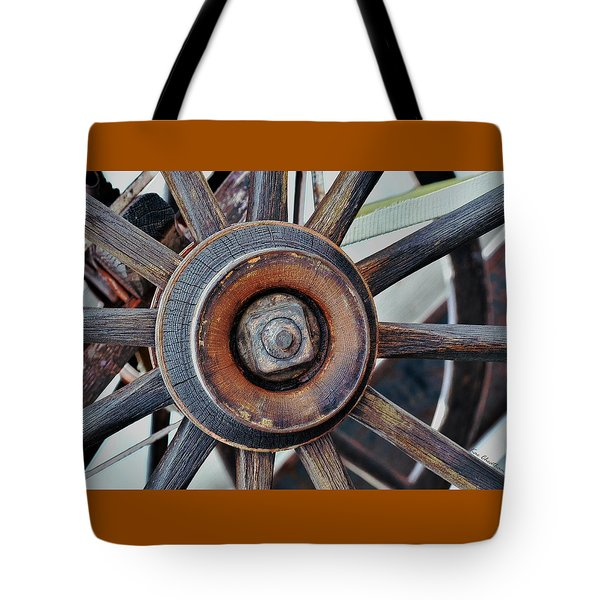 Spokes And Hub Tote Bag