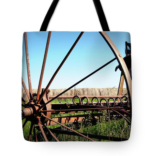 Spokes Tote Bag by Cricket Hackmann