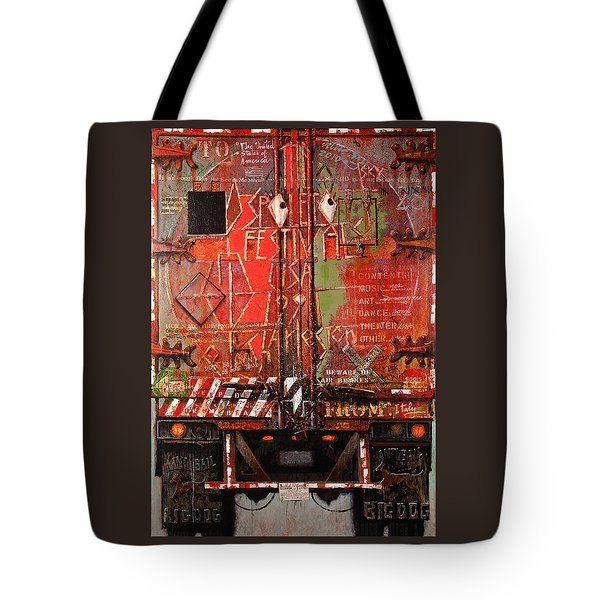 Spoleto Truck Tote Bag by Blue Sky