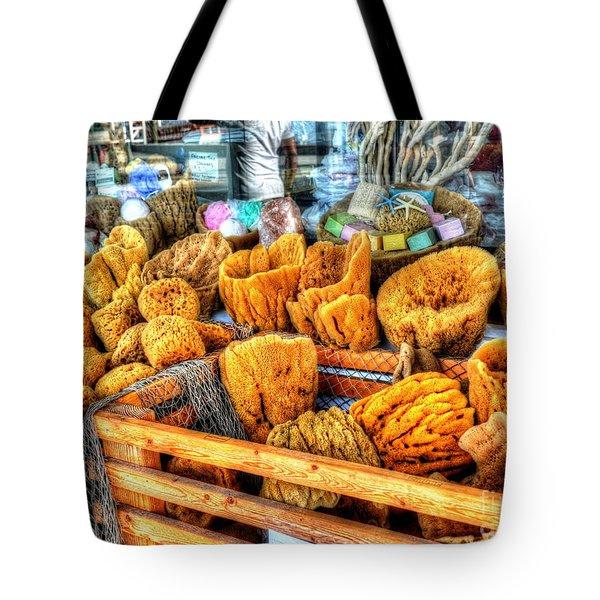 Sponge Worthy Tote Bag by Debbi Granruth