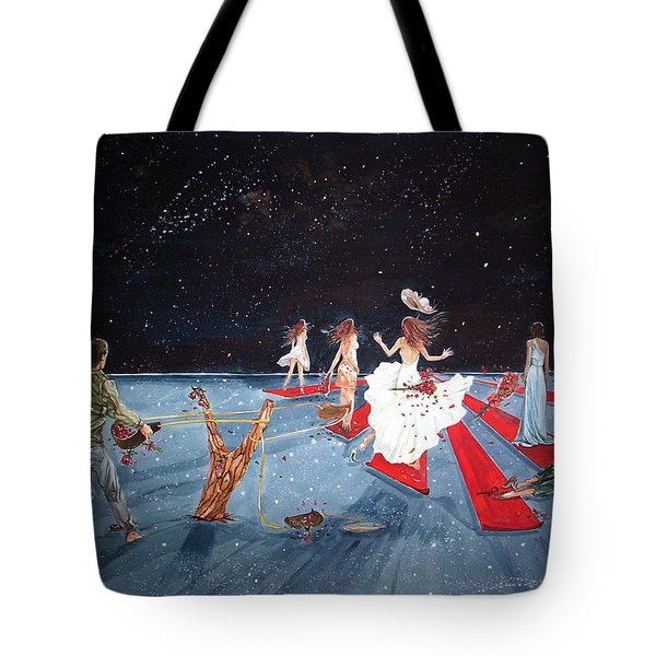 Spontaneous Gallantry Tote Bag