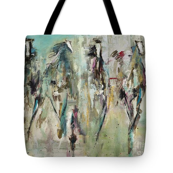 Spooked Tote Bag by Frances Marino