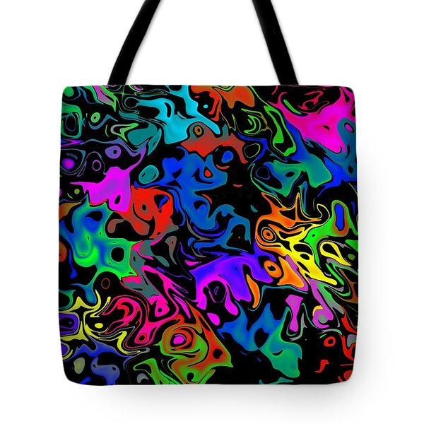 Tote Bag featuring the photograph Spooks by Mark Blauhoefer
