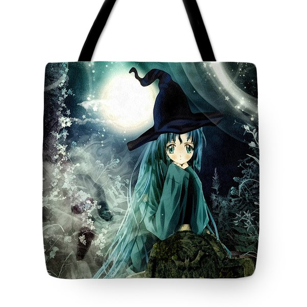 Spooky Night Tote Bag by Mo T