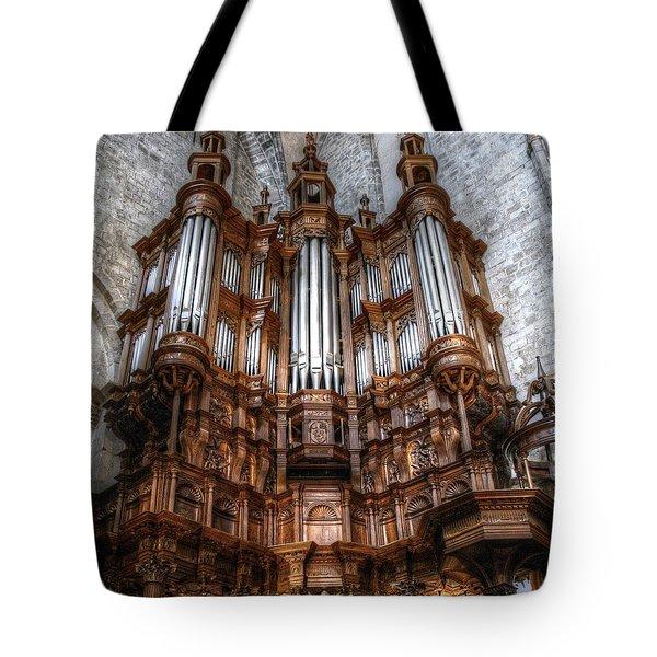 Spooky Organ Tote Bag