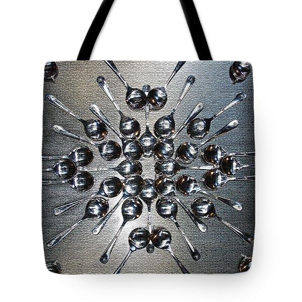 Spoon Art Tote Bag