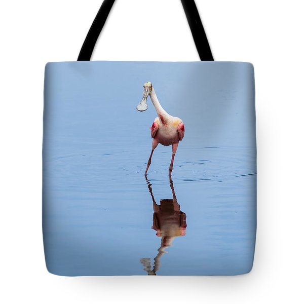 Tote Bag featuring the photograph Spoonie Striking A Pose by John M Bailey