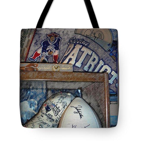 Sports Fan Tote Bag by Jack Gannon