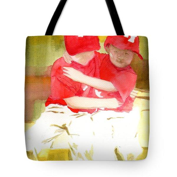 Sports Tote Bag by Margo Schwirian