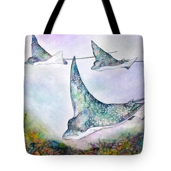 Spotted Eagle Rays Tote Bag