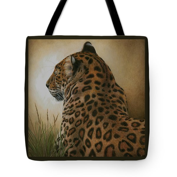 Spotted Elegance Tote Bag