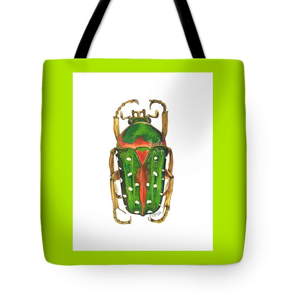 Spotted Flour Beetle Tote Bag