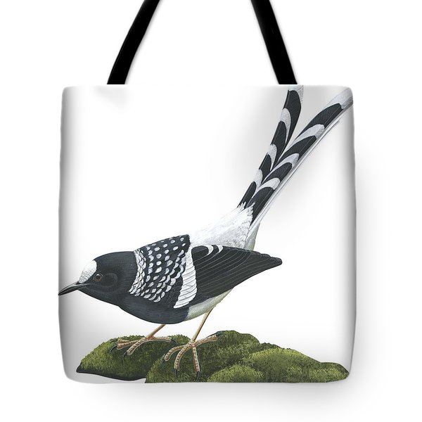 Spotted Forktail Tote Bag