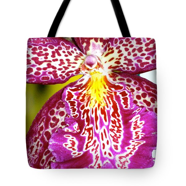 Spotted Orchid Tote Bag by Lehua Pekelo-Stearns