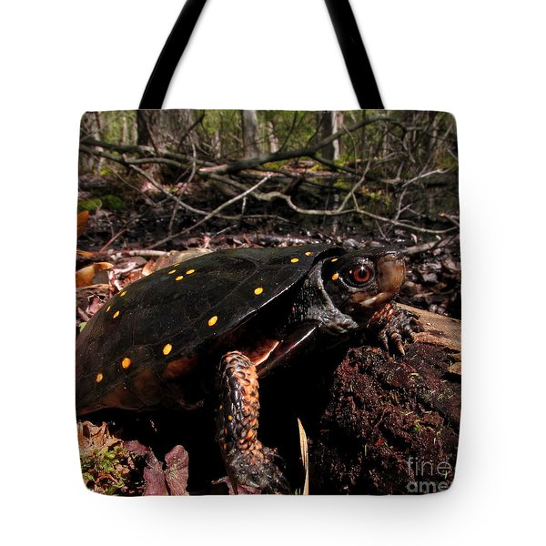 Spotted Turtle Tote Bag