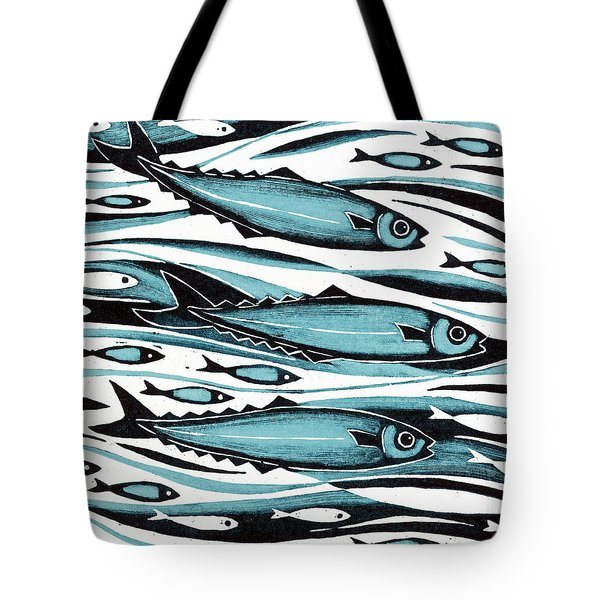 Sprats Tote Bag by Nat Morley