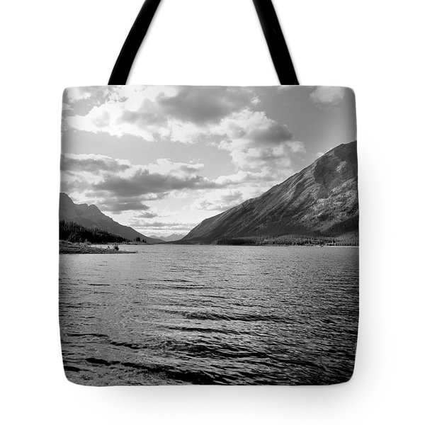 Spray Lake Tote Bag