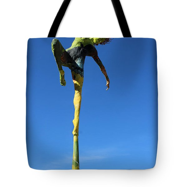 Spread Wings Photographed Outside Tote Bag by Adam Long