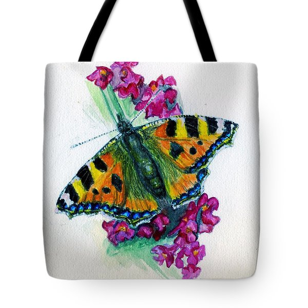Spreading Wings Of Colour Tote Bag