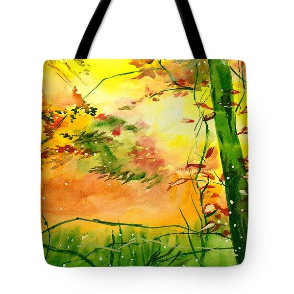 Spring 1 Tote Bag by Anil Nene