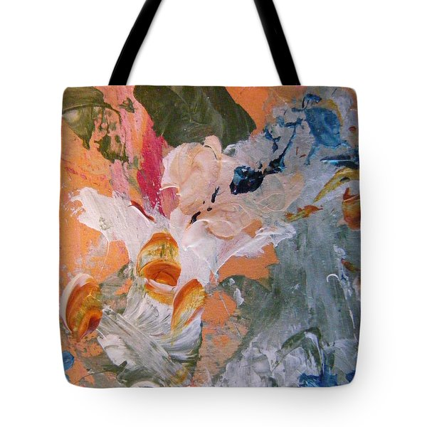 Tote Bag featuring the painting Spring 2 by Nancy Kane Chapman