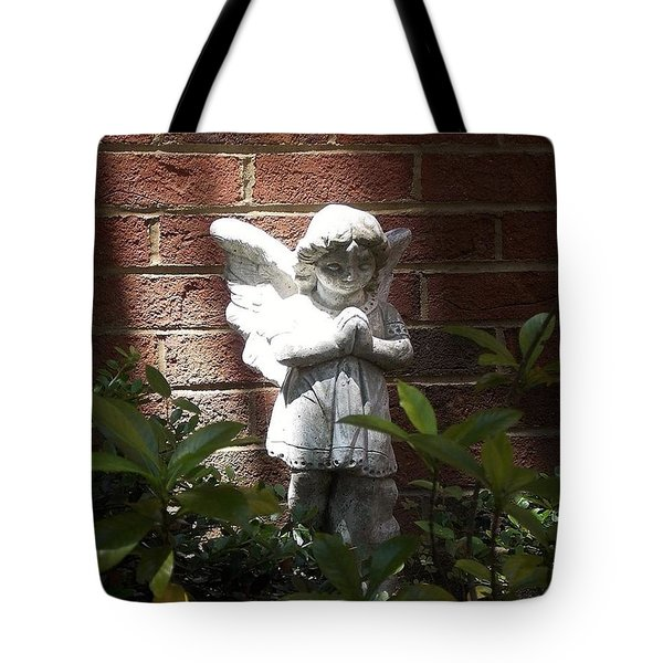 Angel Of Hope Tote Bag