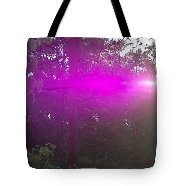 Holy Spirit At Sunrise  Tote Bag