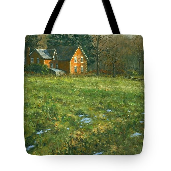 Spring Tote Bag by Michael Swanson