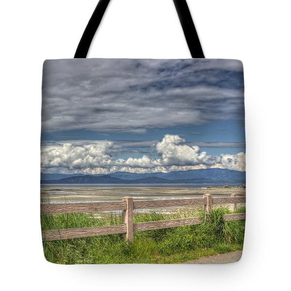 Spring Afternoon Tote Bag by Randy Hall