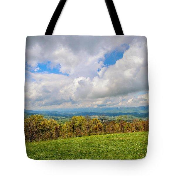 Spring Again In Shenandoah Tote Bag