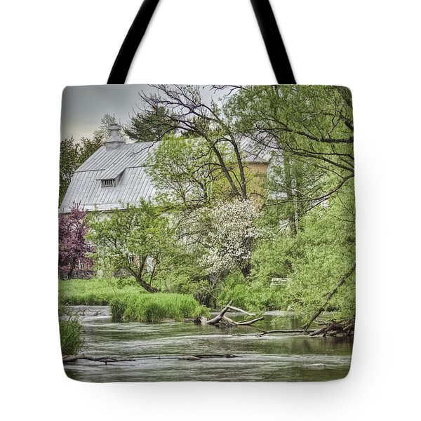 Spring Arrives At The Rose Farm Tote Bag