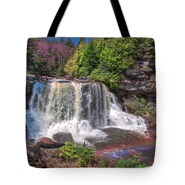 Spring At Blackwater Falls Tote Bag