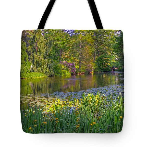 Spring Morning At Mount Auburn Cemetery Tote Bag