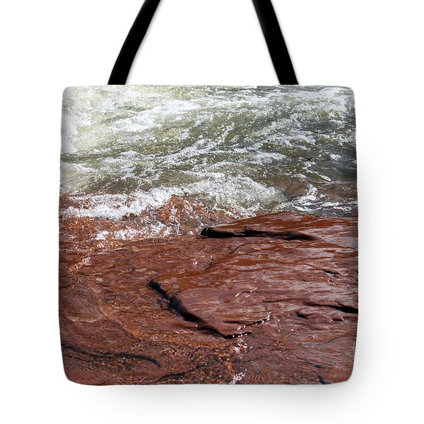 Spring At Sedona In Spring Tote Bag by Debbie Hart