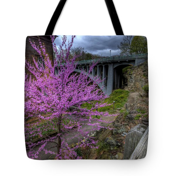 Spring At The Mill Tote Bag