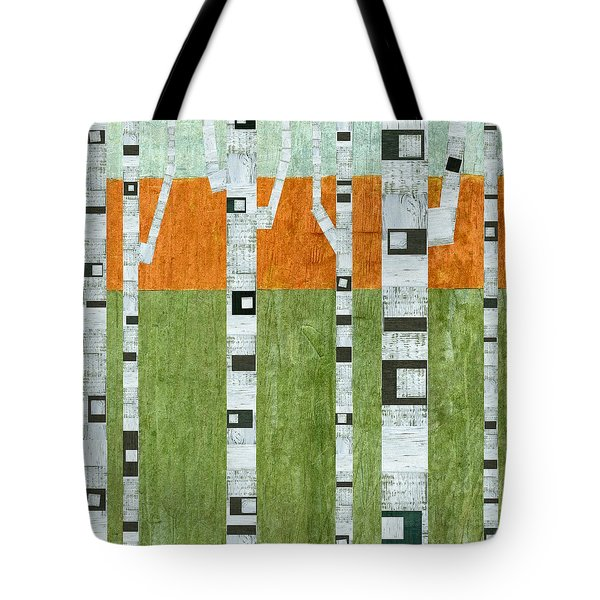 Spring Birches Tote Bag