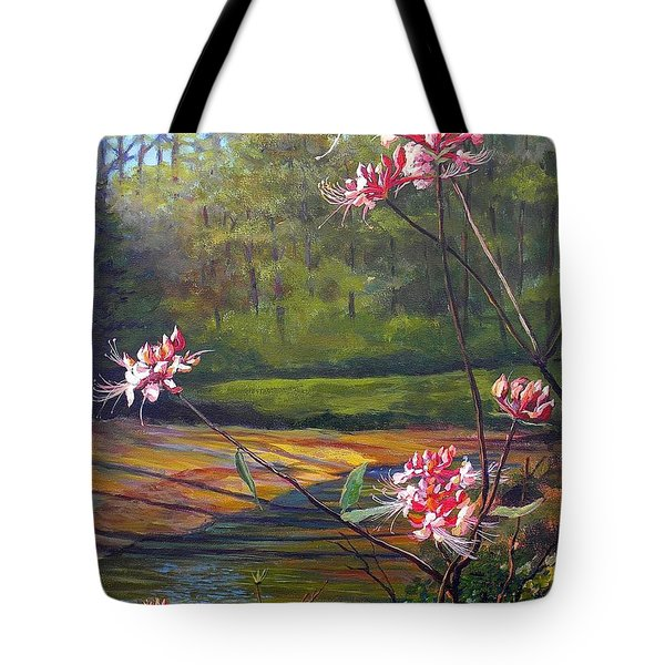 Spring Blooms On The Natchez Trace Tote Bag