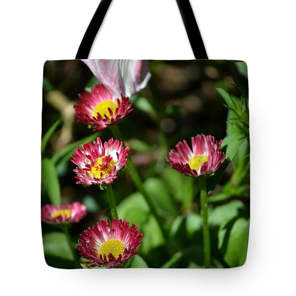 Tote Bag featuring the photograph Spring Blooms by Tara Potts