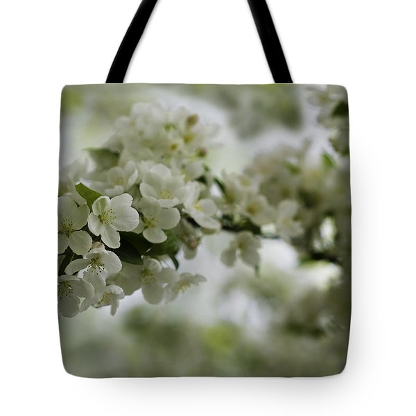 Tote Bag featuring the photograph Spring Bloosom by Sebastian Musial