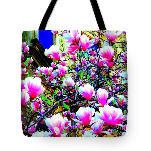 Spring Blossoms Tote Bag by Ed Weidman