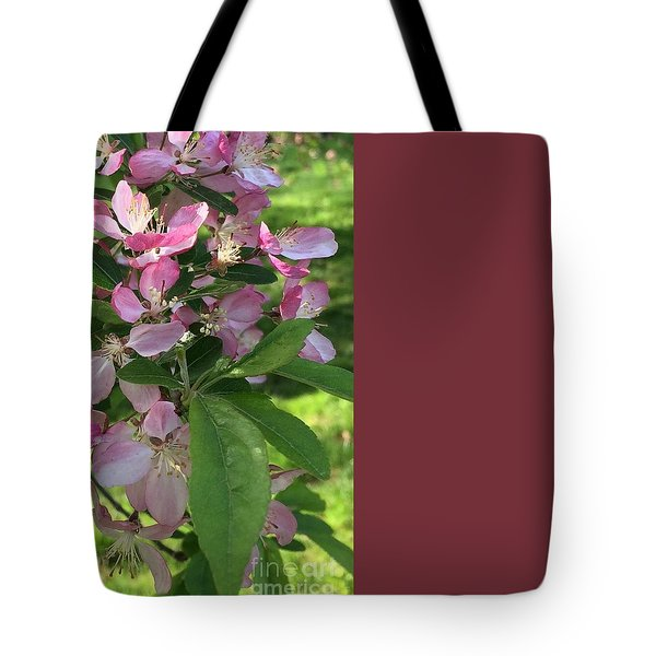 Spring Blossoms - Flower Photography Tote Bag by Miriam Danar