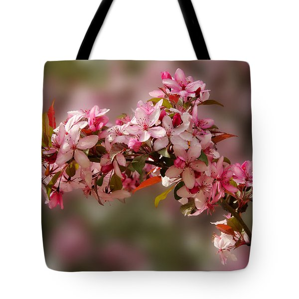 Cheery Cherry Blossoms Tote Bag