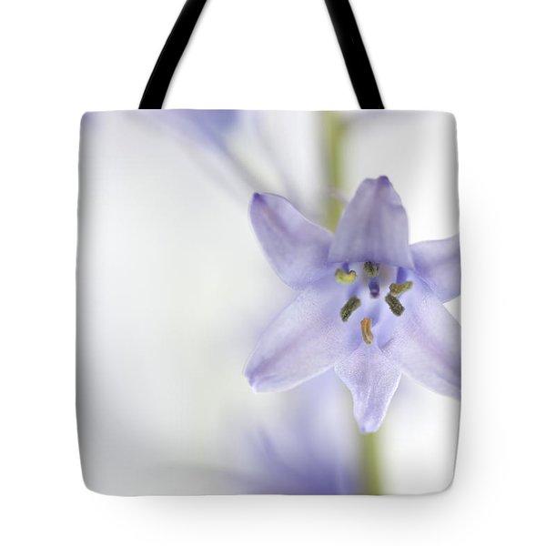 Spring Bluebells Tote Bag by Carol Leigh