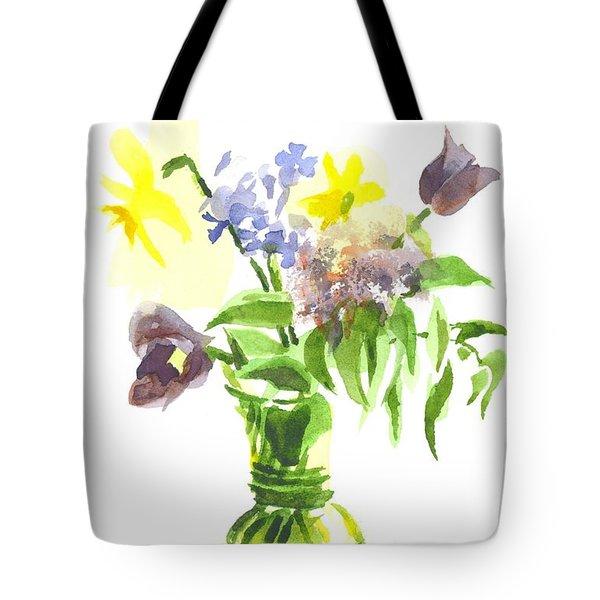 Spring Bouquet IIi Tote Bag by Kip DeVore