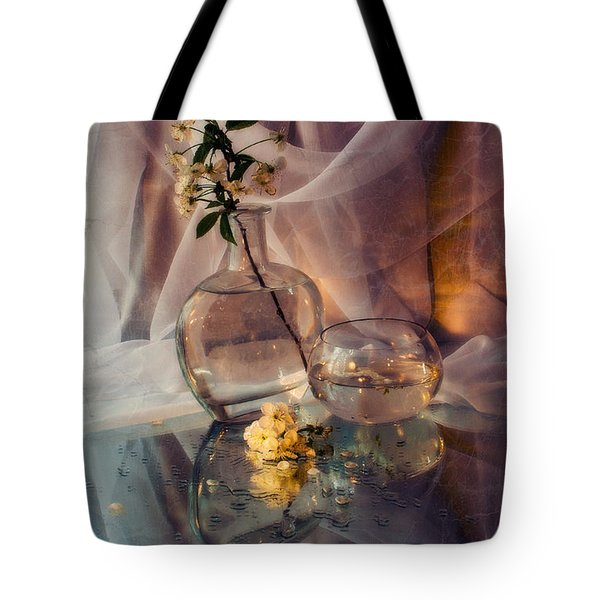 Spring Bouquet Tote Bag by Sviatlana Kandybovich