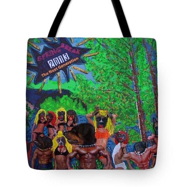Spring Break 2013 Tote Bag by Lisa Piper