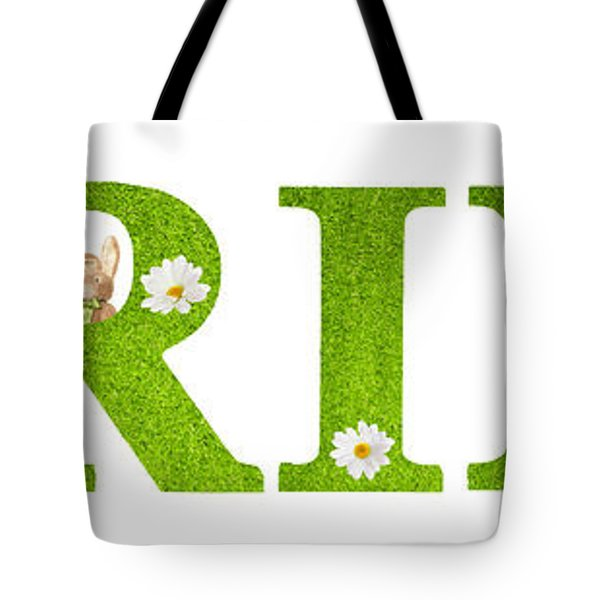 Spring Bunnies Tote Bag