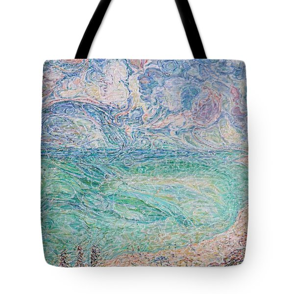 Spring Clouds Over The Azov Sea Tote Bag