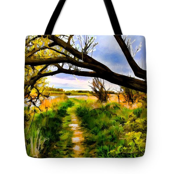 Spring Colours  By Leif Sohlman Tote Bag