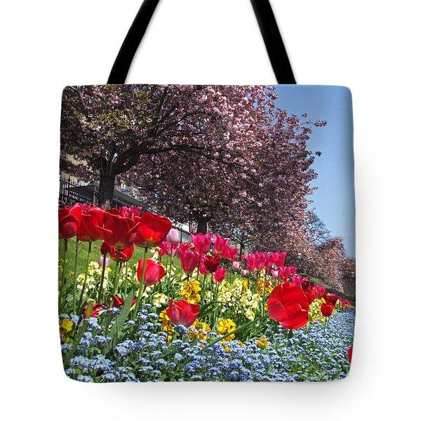 Spring Flowers - Edinburgh Tote Bag